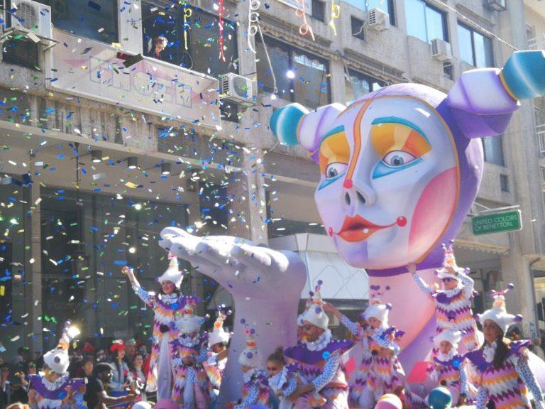 Гръцките карнавали и Катара Дефтера
